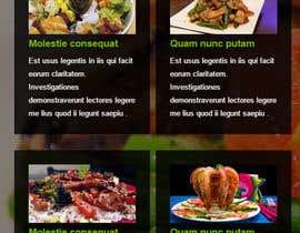 Nro 14 kilpailuun Design a Mobile Restaurant Homepage Mockup käyttäjältä zeeshanayaz1