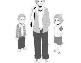Nro 24 kilpailuun Cartoon Characters Concept Art käyttäjältä Qion