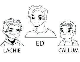 Nro 21 kilpailuun Cartoon Characters Concept Art käyttäjältä robertussidharta