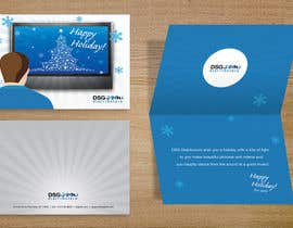 #42 untuk Design a holiday greeting card oleh fabidesign