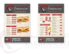 Nro 21 kilpailuun Design a Menu for a juice bar and fast food käyttäjältä glazaropoulos