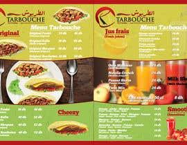 Nro 18 kilpailuun Design a Menu for a juice bar and fast food käyttäjältä mnagm001