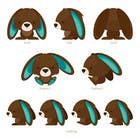 #36 for Character Design: Combination of a Bunny and a Bear by applemoment