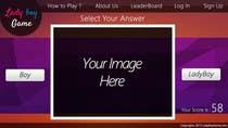 Contest Entry #6 for Design a Website Mockup for domain Ladyboygame.com