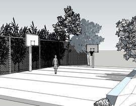 zoranaelek tarafından 3D Model a Grass turf basketball court için no 1