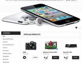 #7 for Build a Website for a electronic accessories and branding business af iukaeru