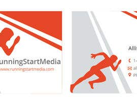 #57 untuk Design some Business Cards for RunningStartMedia oleh holecreative