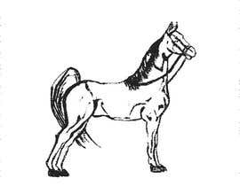 nº 11 pour Hand-drawn sketch of horse in AI format par kmkalczynska
