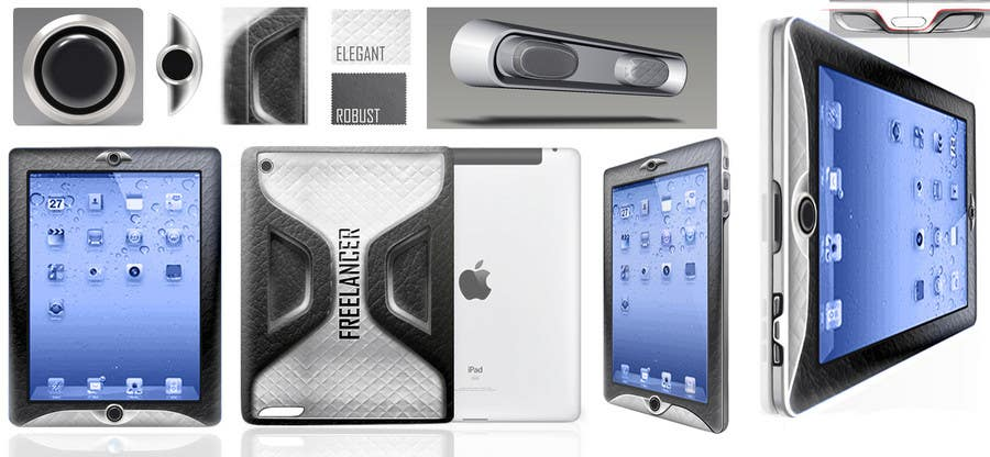 Contest Entry #                                        6                                      for                                         Looking 4 fashionable custom design for iPad 2! Not a case but the iPad itself!
