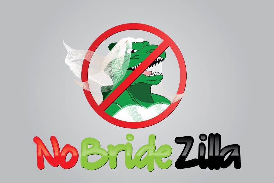 Kilpailutyö #2 kilpailussa BrideZilla Logo
