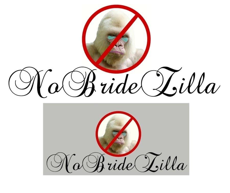 Kilpailutyö #25 kilpailussa BrideZilla Logo