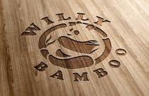 Graphic Design Kilpailutyö #191 kilpailuun Design a Logo for Willy Bamboo