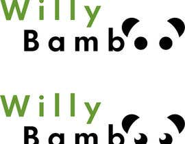 #102 for Design a Logo for Willy Bamboo by Aly01