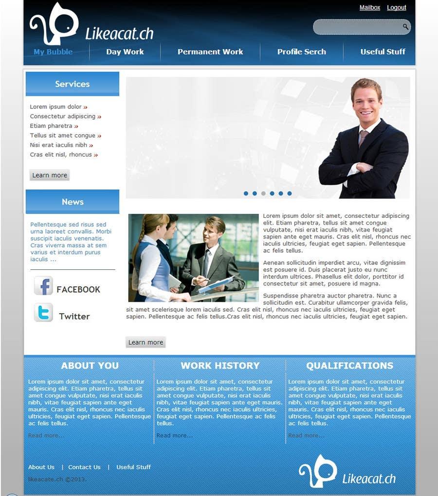 Penyertaan Peraduan #5 untuk Drupal Theme for a printing company