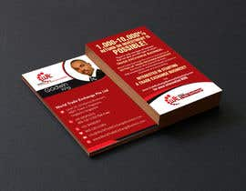 #48 para Design Business Card Using Our Logo Already designed por rajnandanpatel