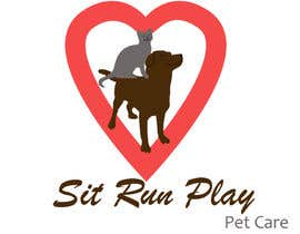 nº 15 pour Design a Logo for Sit Run Play Pet Care par saiprasannamenon