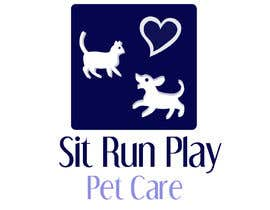 nº 16 pour Design a Logo for Sit Run Play Pet Care par saiprasannamenon