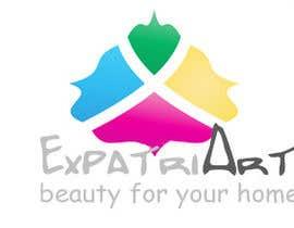 Nro 24 kilpailuun Design a Logo for ExpatriArt käyttäjältä yeshkutty