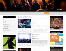 #18 cho Design a Website Mockup for an event website and guide bởi vineetdhara