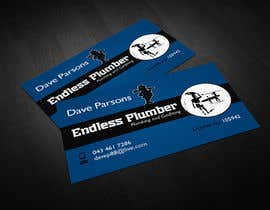 #7 cho Design some Business Cards for The Endless Plumber bởi lovely9