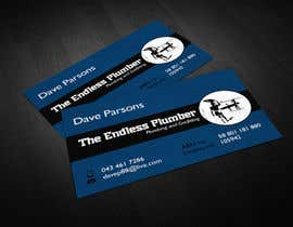 nº 15 pour Design some Business Cards for The Endless Plumber par lovely9