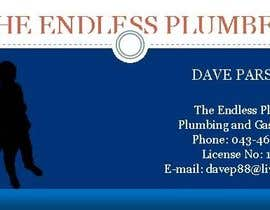 nº 1 pour Design some Business Cards for The Endless Plumber par Rextol