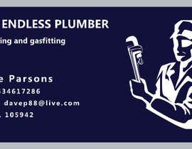 nº 8 pour Design some Business Cards for The Endless Plumber par BeatrixPL