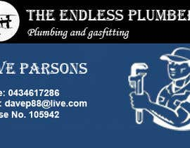 #9 untuk Design some Business Cards for The Endless Plumber oleh shahidhashmi81