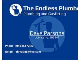 #18 untuk Design some Business Cards for The Endless Plumber oleh downyquinn