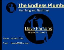 #22 untuk Design some Business Cards for The Endless Plumber oleh downyquinn