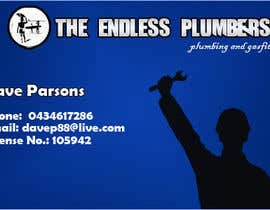 nº 3 pour Design some Business Cards for The Endless Plumber par aashishktd
