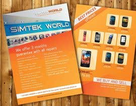 #4 for Good Design a Flyer for SimTek World Ltd by HerlinaTan