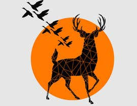 Nro 33 kilpailuun Design a deer and ducks t shirt Many more jobs to come this is a test to find our designer. Logo käyttäjältä theislanders