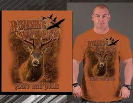 #34 for Design a deer and ducks t shirt Many more jobs to come this is a test to find our designer. Logo by blackhordes