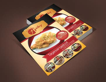 #29 for Design a Banner for Restaurant. by grafkd3zyn