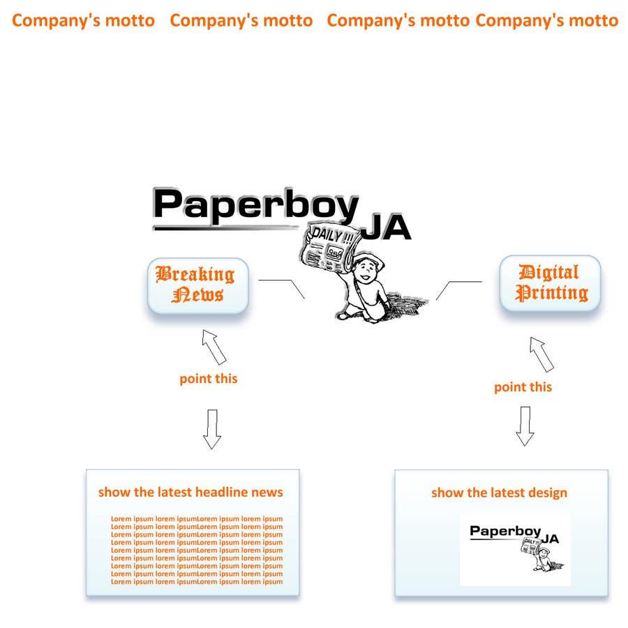Konkurrenceindlæg #                                        25                                      for                                         Graphic Design for Paperboy JA