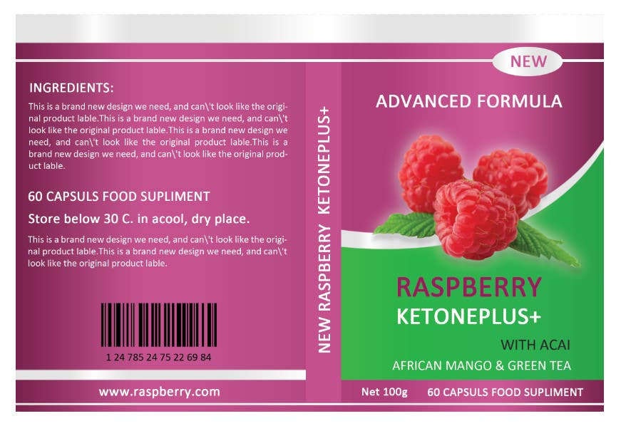 Contest Entry #6 for Create Packaging Designs Health Supplement