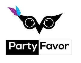 "#102 untuk Logo Design for ""Party Favor"" oleh judithsongavker"