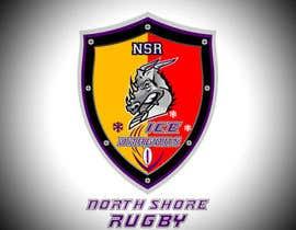 z35304 tarafından Sports Logo for North Shore Rugby Ice Dragons için no 44