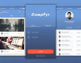 Nro 57 kilpailuun Design an iPhone and iPad App Mockup käyttäjältä MochRPratama