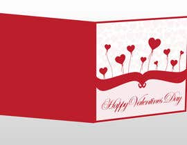 #22 untuk Design some Stationery for a Valentine's Day card oleh cristiana84vw