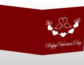 #31 untuk Design some Stationery for a Valentine's Day card oleh cristiana84vw