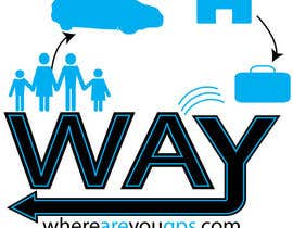 #124 para Logo Design for www.whereareyougps.com por richr1972