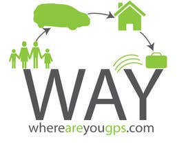 #134 para Logo Design for www.whereareyougps.com por richr1972