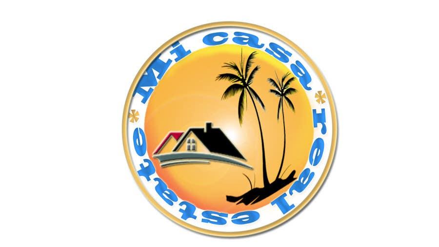 Penyertaan Peraduan #103 untuk Design a Logo for a real estate website