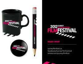 nº 296 pour Logo Design for Surrey International Film Festival par mvdrury