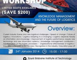 #7 untuk Design a Flyer for a Logistics Workshop oleh stniavla