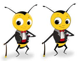 #11 cho I need a cartoon-style illustration of a Bee bởi swati14