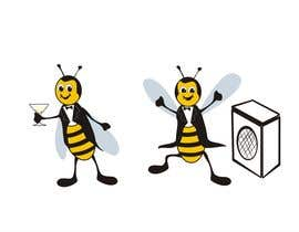 #7 cho I need a cartoon-style illustration of a Bee bởi saryanulik