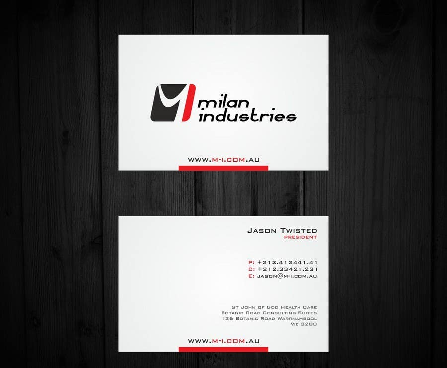#14 for Stationery Design for Milan Industries Pty Ltd by F5DesignStudio